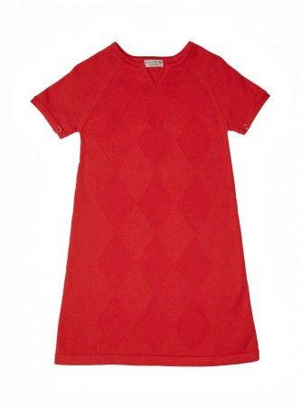 feines sommerstrickkleid von bock copenhagen aus hochwertiger