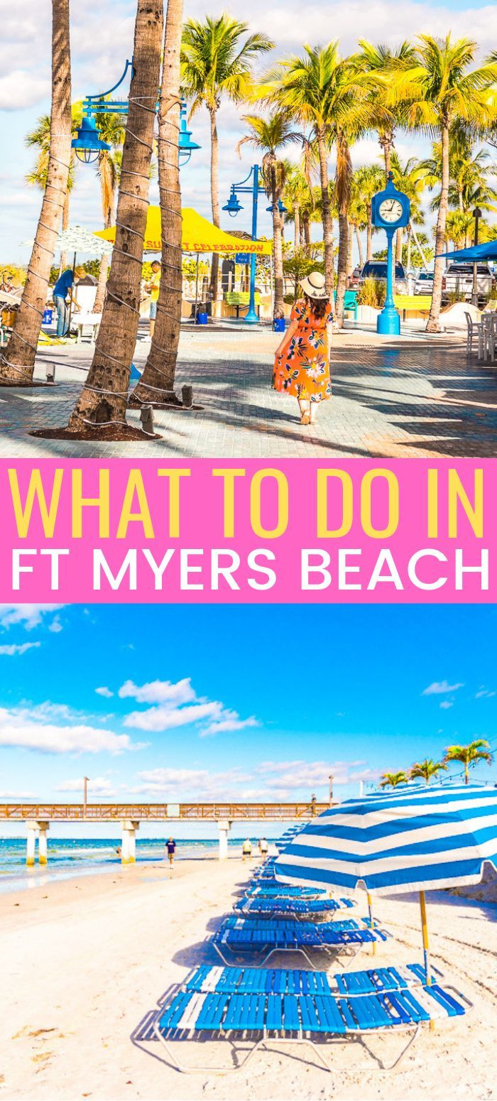 What To Do In Fort Myers Beach Fort Myers Beach Fort Myers