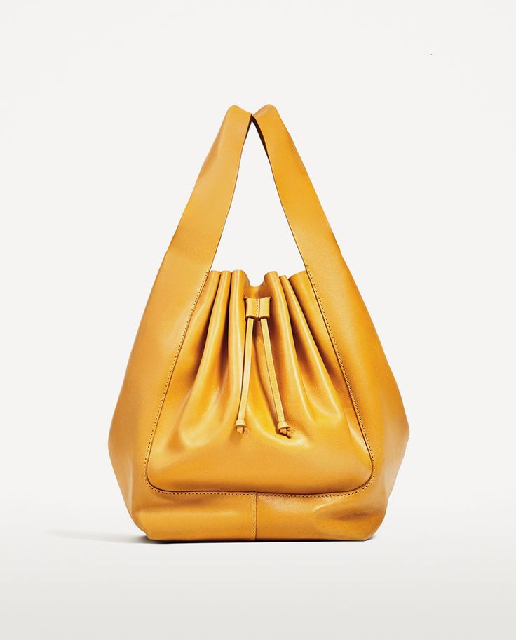 Leather Bucket Bag from Zara R1390,00