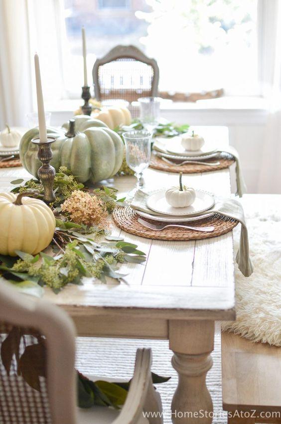372 best ~ Autumn Table ~ images on Pinterest | Dinner table ...