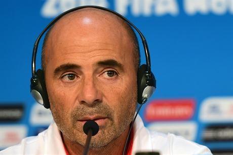 Jorge Sampaoli entrenador de Chile