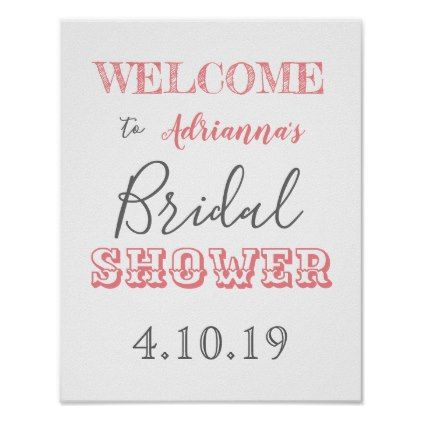 812b688b3f5  Chic Modern Bridal Shower Welcome Sign -  bride gifts  bridal ideas unique  personalize