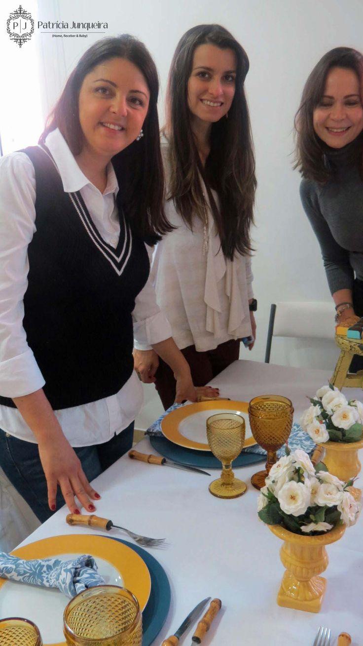 Workshop Receber Bem & Etiqueta na Prática com Patricia Junqueira e Eline Junchem