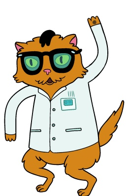 Adventure Time - Science Cat