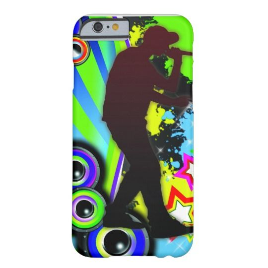 Cool rapper boy barely there iPhone 6 case