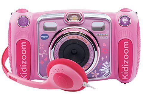 Vtech – 170855 – Appareil Photo Numérique – Kidizoom Duo – Rose: L'appareil photo des juniors avec double objectif et nouveaux trucages.…