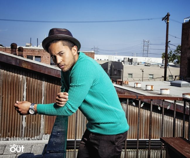 Tahj Mowry turns heads in latest photo spread for 'rolling out' - Rolling Out