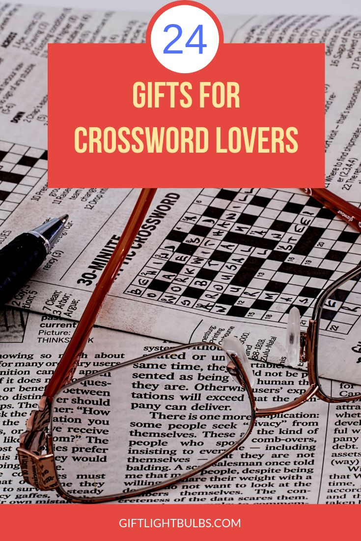 Park Art My WordPress Blog_Gifts For Crossword Puzzle Lovers