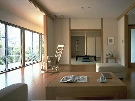 Modern Japanese living space