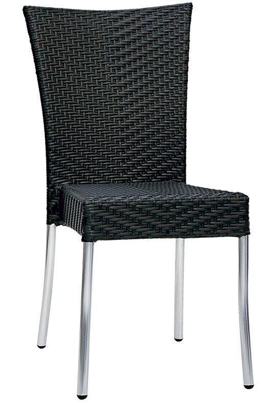 Elegante sedia per valorizzare i vostri ambienti interni ed esterni, conferendo raffinatezza e prestigio.  Impilabile, adatta per casa ma anche per bar, caffè, sale da thè, ristoranti, locali sul lungomare, alberghi, stabilimenti balneari.