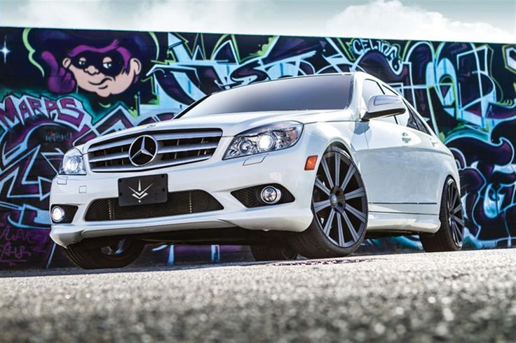 2012 Mercedes C350 	 by Verde Custom Wheels. Click to view more photos and mod info.