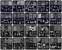 20Pcs Manicure Template Nail Art Printing Image Polish Stamp Plates Stamper DIY