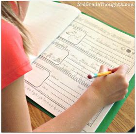 """3rd Grade Thoughts: Keeping Track of """"Word of the Day"""" With Vocabulary Journals"""