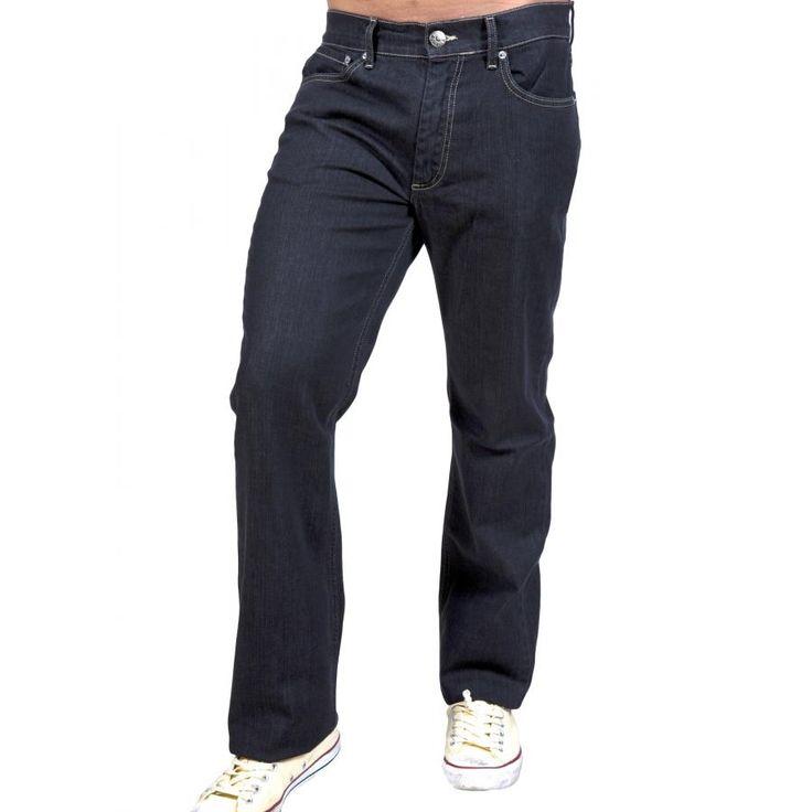 RED ROCK Ανδρικό κλασικό ελαστικό παντελόνι τζιν, τύπου Levis