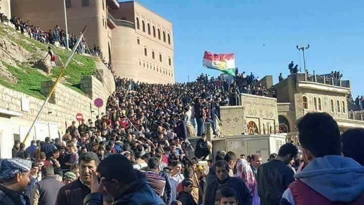 Erbil, Kurdistan region, today on prophet Mohammed's birthday