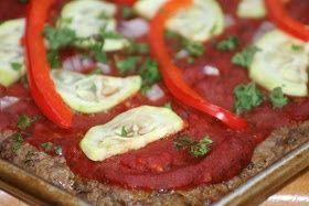 Budget Paleo … leicht gemacht: Leckere, nahrhafte Paleo Meatza Pizza! – #Budge …