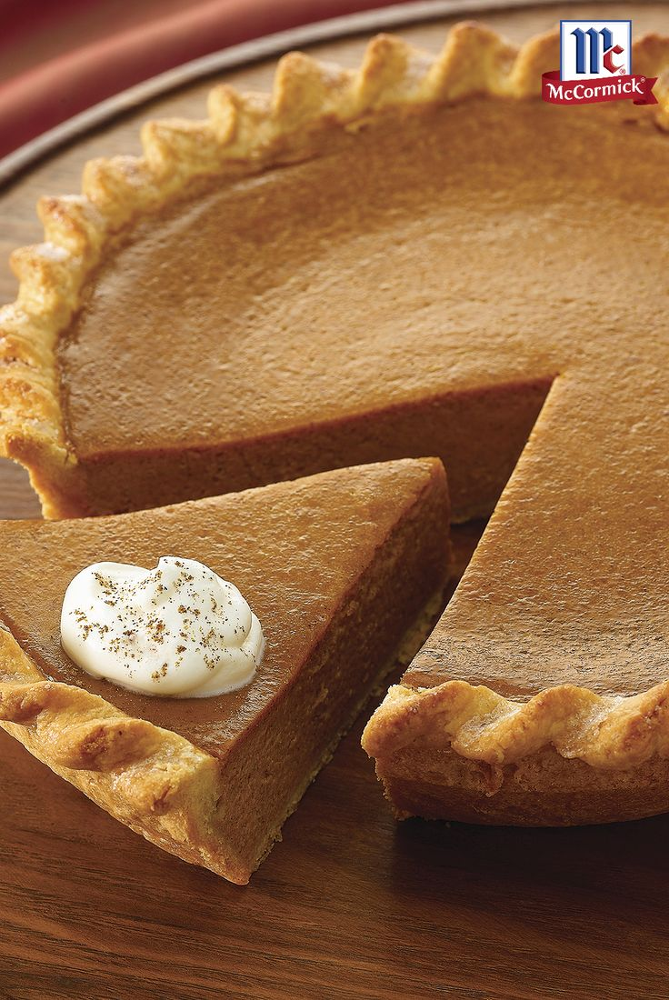 The reviews are in -- everyone is raving about this fabulously easy pumpkin pie recipe. Make the pie even more festive by serving it with Vanilla Whipped Cream for an easy Thanksgiving dessert full of classic fall flavors.