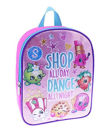 Shopkins™ 10'' Purple Backpack #zulily #zulilyfinds