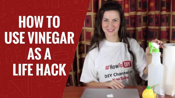 How to Use Vinegar as a Life Hack | 3 Vinegar Hacks