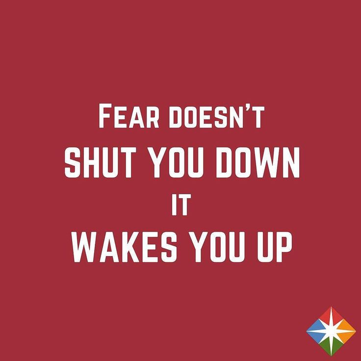 Use fear to your advantage. #tuesday #tuesdaymorning