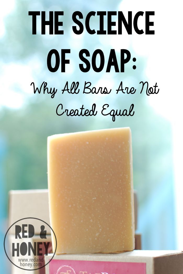 The Science of Soap: Why All Bars are Not Created Equal. I stopped using mass-produced liquid body wash years ago (it's full of toxic ingredients that are scientifically linked to immunotoxicity, allergies, cancer, and more. Thumbs down.). Here is how to know what is in your soap!