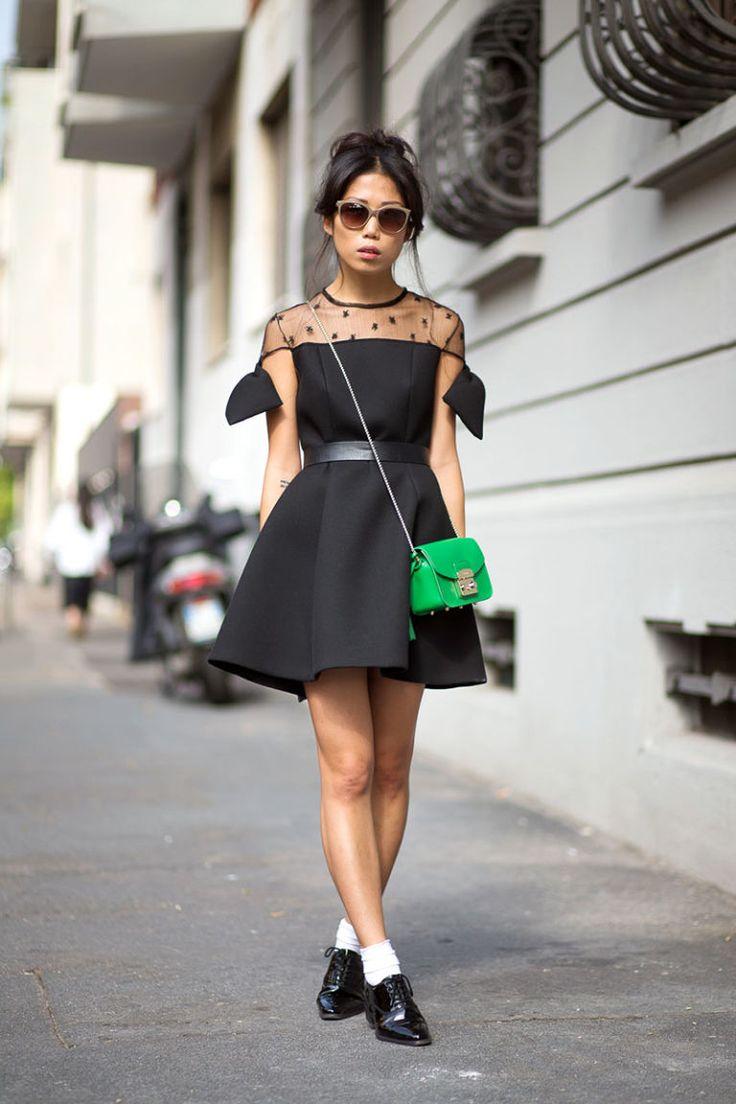 Ciao Bellas! Milan Street Style  - HarpersBAZAAR.com