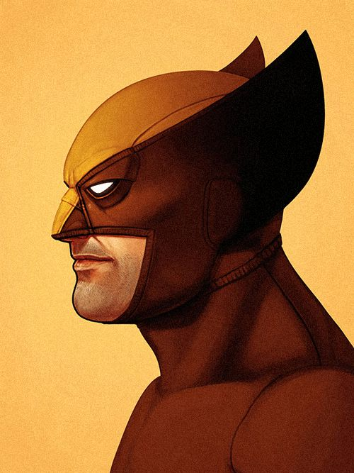 astonishingx:  X-Men Portraits by Mike Mitchell - Part I (organized as a versus game by me)