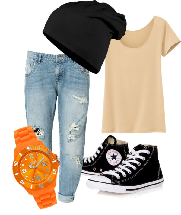 """casual"" by kristihokseng on Polyvore"
