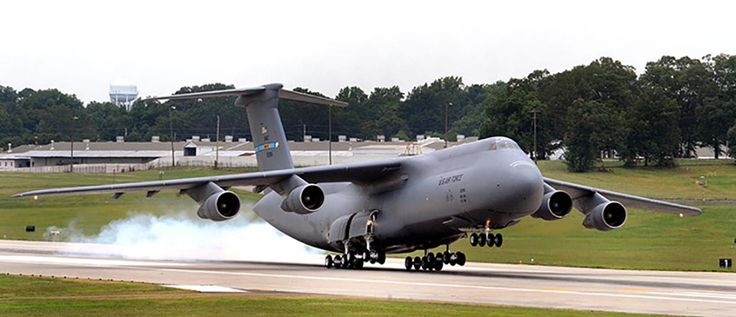 LOCKHEED C-5 GALAXY: Length: 247 ft 1 in - This iconic US Air Force plane is still in service, however the C-5M Super Galaxy is an upgraded version with modern avionics that should extend its service life past 2040.