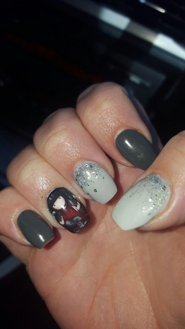 Love my Gorjuss nails