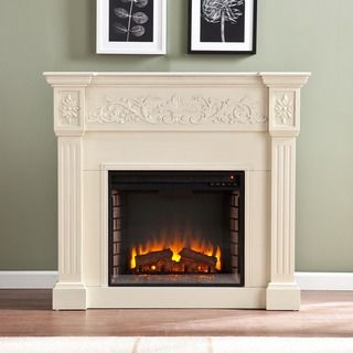 19 best fausse cheminée images on Pinterest | Electric fireplaces ...