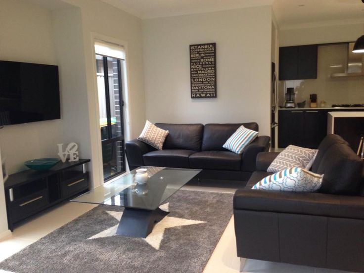 Karen from Sydney shared some photos of her new Manhattan Two home. This is the living section in the heart of the home and we have to say, it is beautifully decorated Karen! #living #loungeroom #lounge #television #newhome #inspiration