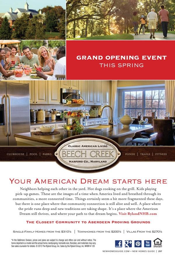Beech Creek - Ryland Homes Baltimore - New Homes Guide