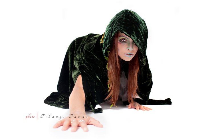 Wild cat druid girl