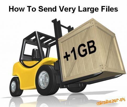 Ako poslať objemnejší súbor - Posielanie veľkých súborov