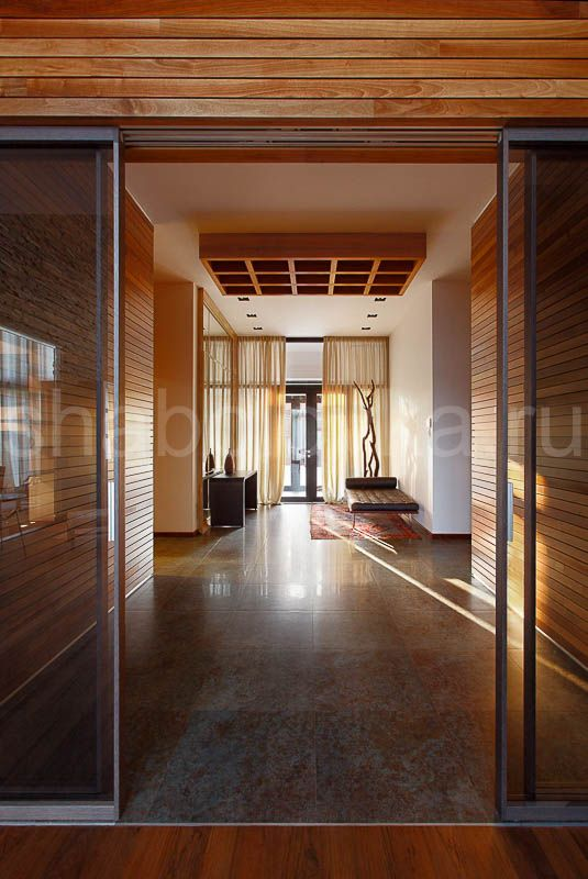 прихожая - интерьер в современном стиле  Архитектурное бюро Шаболовка
