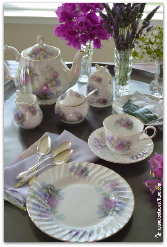 tea table settings tables - photo #7