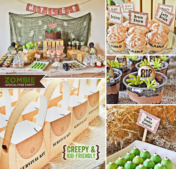 25+ Best Ideas About Zombie Birthday Parties On Pinterest