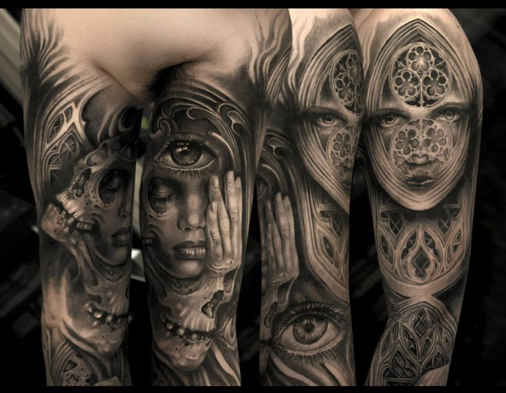 13 best other grey tattoos images on pinterest gray for Anthony french tattoo