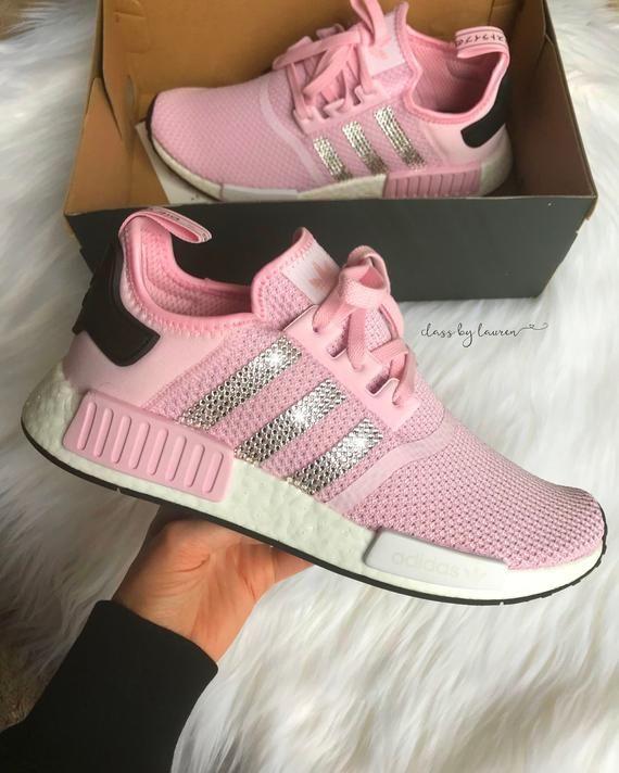 f056a141c59e7 Swarovski Adidas NMD Pink in 2019 | Adidas shoes | Adidas, Adidas ...