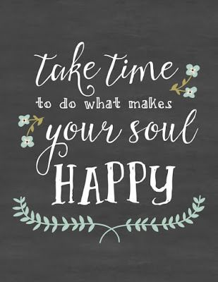 """Emplea tiempo en cosas que te hagan feliz"" - Take time to do what makes your soul happy /// Consejos para opositar y no morir en el intento"
