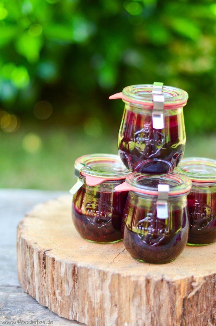 Rezepte zum Einmachen, Waldheidelbeeren, Beeren einmachen | foodistas.de