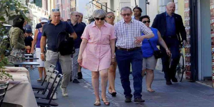 """Top News: """"UK POLITICS: Theresa May Goes on Holiday From Brexit Politics"""" - https://i2.wp.com/politicoscope.com/wp-content/uploads/2017/07/Theresa-May-walks-with-her-husband-Philip-in-Desenzano-del-Garda-by-Lake-Garda-northern-Italy.jpg?fit=1000%2C500 - British Prime Minister Theresa May was photographed with her husband Philip on holiday in Italy on Tuesday, the first leg of a three week summer holiday.  on Politics - http://politicoscope.com/2017/07/25/uk-politics-theresa-m"""