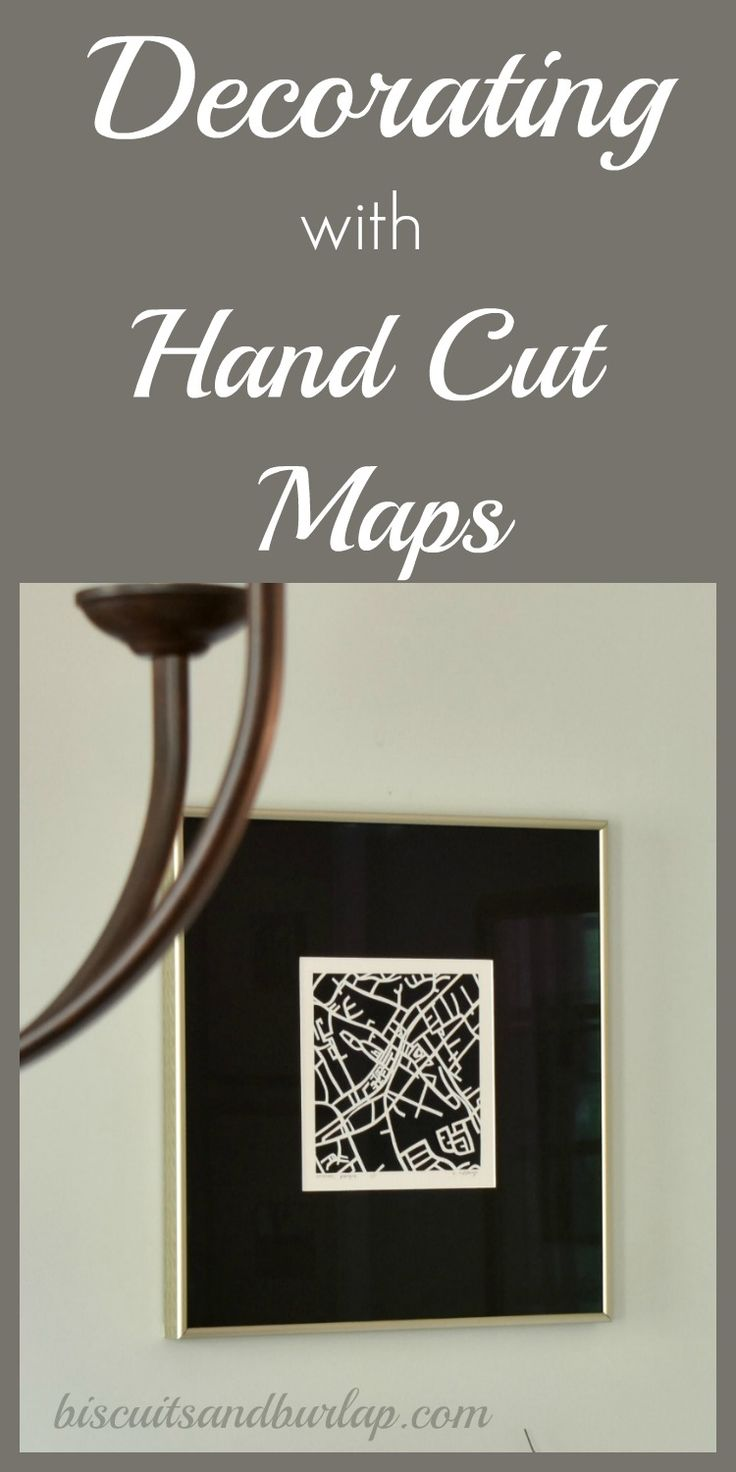 10 best maps images on pinterest maps history and world maps add a personal touch by using a hand cut map of someplace special gumiabroncs Gallery