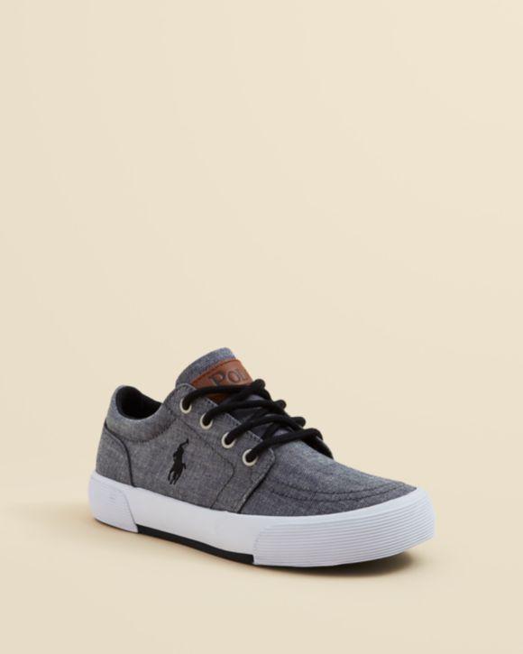 Ralph Lauren Boys' Faxon II Sneakers