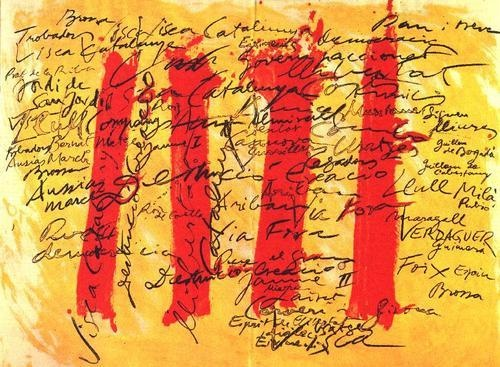 Catalunya - Antoni Tàpies