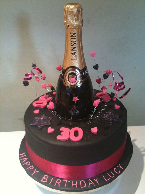 Images Of Birthday Cake And Champagne : Best 25+ Bottle cake ideas on Pinterest