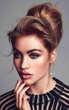 36 Trendy Hairstyles Elegant Party Wedding Updo