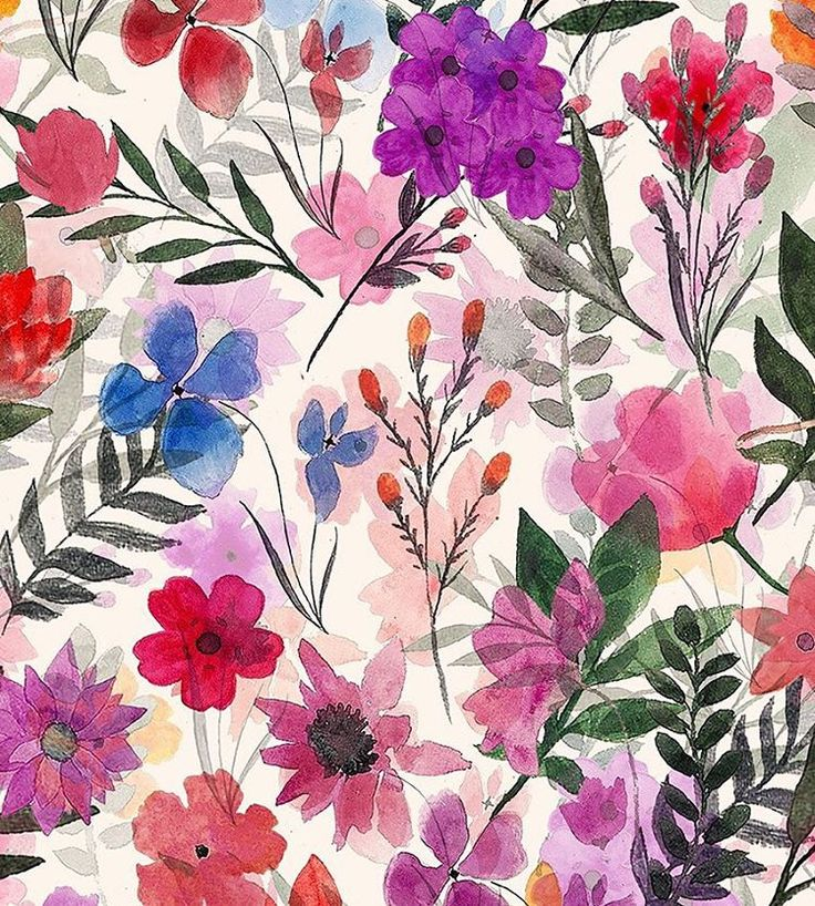 Cary by Slender Prints #Womenswear #Floral #Traditional #Nature #Bloom #Blossom #Ditsy #Flowers #Pastel #Watercolour #Womenswear