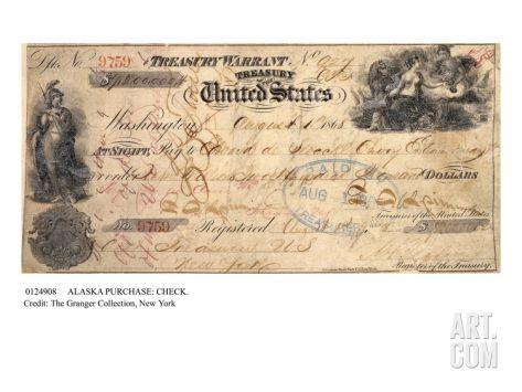 Alaska Purchase: Check Giclee Print at Art.com